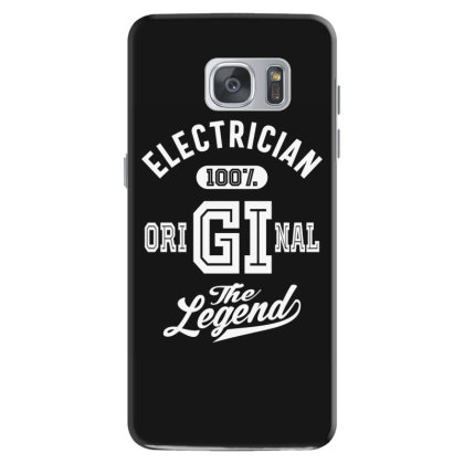 Electrician Job Title Gift Samsung Galaxy S7 Case Designed By Cidolopez