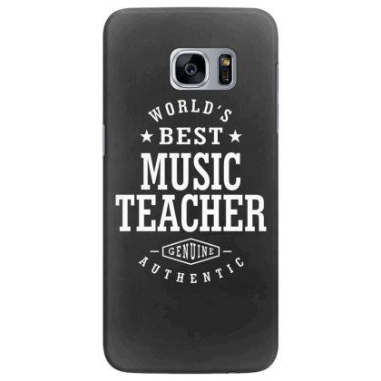 Music Teacher Job Title Gift Samsung Galaxy S7 Edge Case Designed By Cidolopez