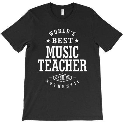 Music Teacher Job Title Gift T-shirt Designed By Cidolopez