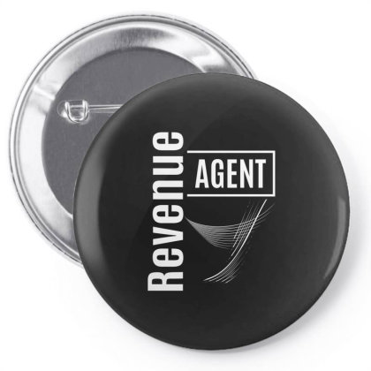 Revenue Agent Job Title Gift Pin-back Button Designed By Cidolopez