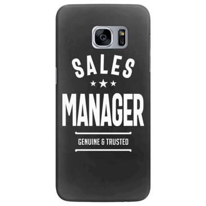 Sales Manager Job Title Gift Samsung Galaxy S7 Edge Case Designed By Cidolopez