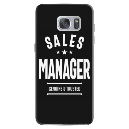 Sales Manager Job Title Gift Samsung Galaxy S7 Case Designed By Cidolopez