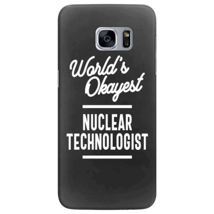 Nuclear Technologist Job Title Gift Samsung Galaxy S7 Edge Case Designed By Cidolopez