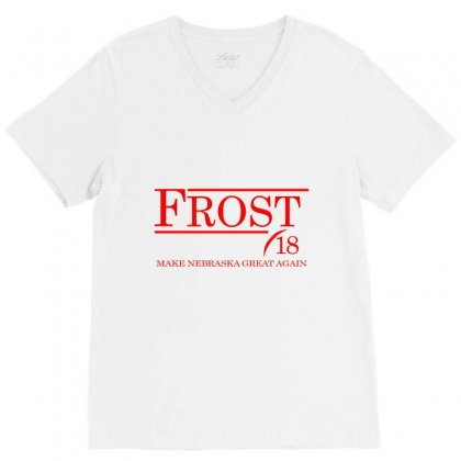 Frost (a331) V-neck Tee Designed By Newgen
