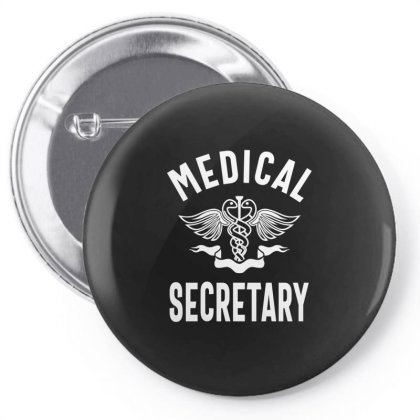 Medical Secretary Job Title Gift Pin-back Button Designed By Cidolopez