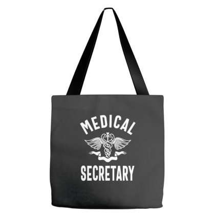 Medical Secretary Job Title Gift Tote Bags Designed By Cidolopez