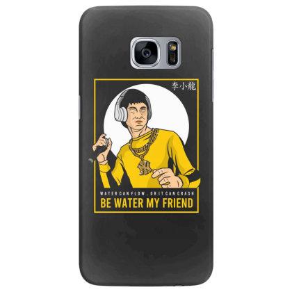 Bruce Lee Rapper Samsung Galaxy S7 Edge Case Designed By Samkal