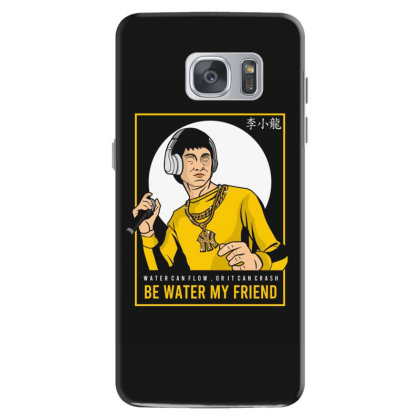 Bruce Lee Rapper Samsung Galaxy S7 Case Designed By Samkal