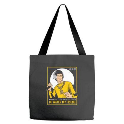 Bruce Lee Rapper Tote Bags Designed By Samkal