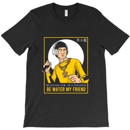 Bruce Lee Rapper T-shirt Designed By Samkal