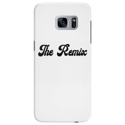 The Remix Classic T Shirt Samsung Galaxy S7 Edge Case Designed By Jetspeed001