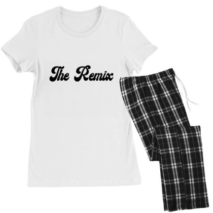 The Remix Classic T Shirt Women's Pajamas Set Designed By Jetspeed001