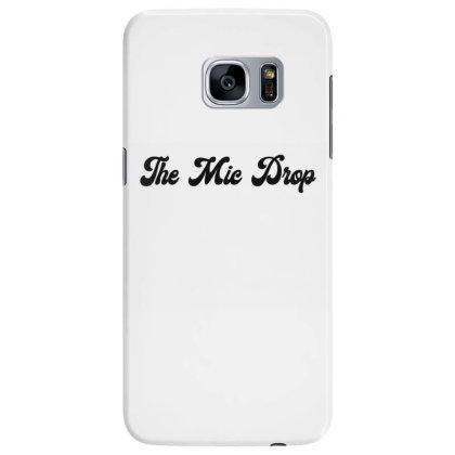 The Mic Drop Classic T Shirt Samsung Galaxy S7 Edge Case Designed By Jetspeed001
