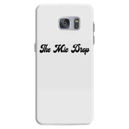 The Mic Drop Classic T Shirt Samsung Galaxy S7 Case Designed By Jetspeed001