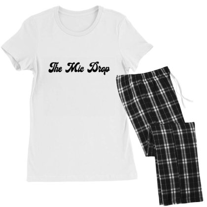The Mic Drop Classic T Shirt Women's Pajamas Set Designed By Jetspeed001