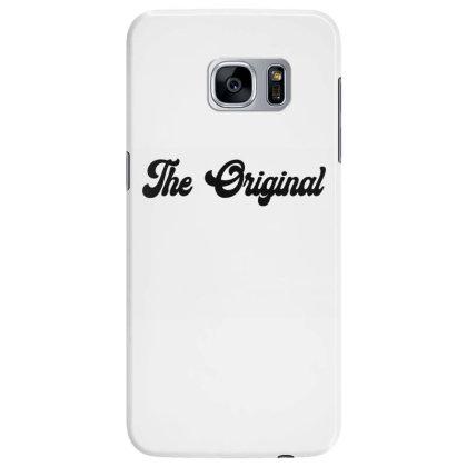The Original Classic T Shirt Samsung Galaxy S7 Edge Case Designed By Jetspeed001