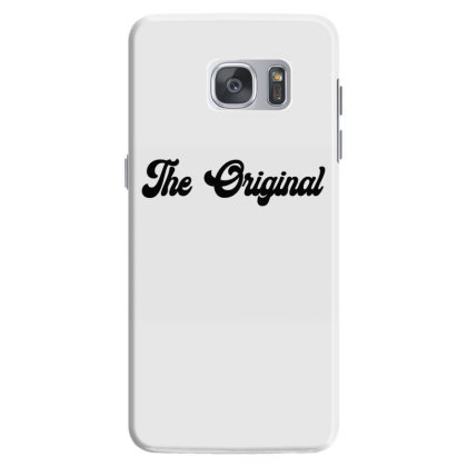 The Original Classic T Shirt Samsung Galaxy S7 Case Designed By Jetspeed001