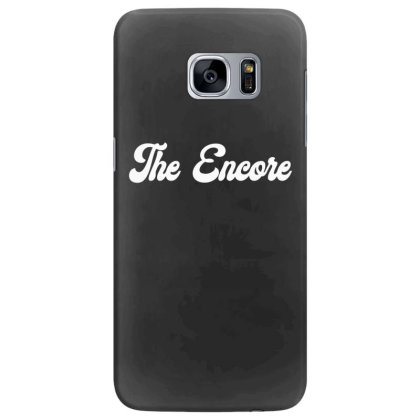 The Encore Classic T Shirt Samsung Galaxy S7 Edge Case Designed By Jetspeed001