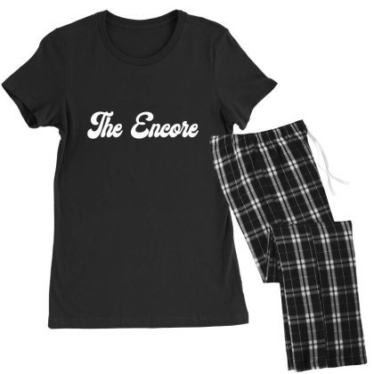 The Encore Classic T Shirt Women's Pajamas Set Designed By Jetspeed001