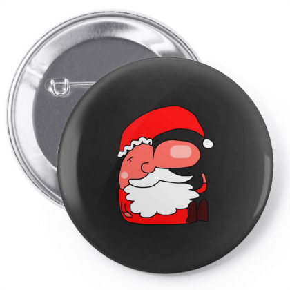 Santa Schnoz Classic T Shirt Pin-back Button Designed By Jetspeed001