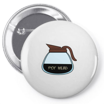 Pot Head Classic T Shirt Pin-back Button Designed By Jetspeed001
