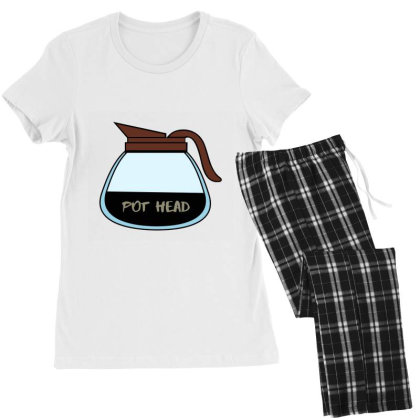 Pot Head Classic T Shirt Women's Pajamas Set Designed By Jetspeed001