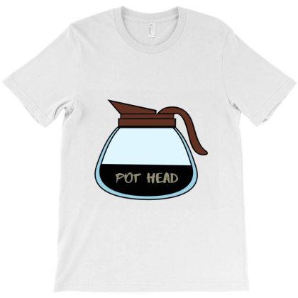 Pot Head Classic T Shirt T-shirt Designed By Jetspeed001