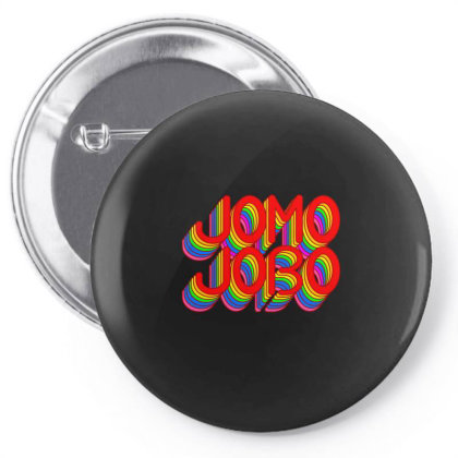 Jomo Jobo (rainbow) Classic T Shirt Pin-back Button Designed By Jetspeed001