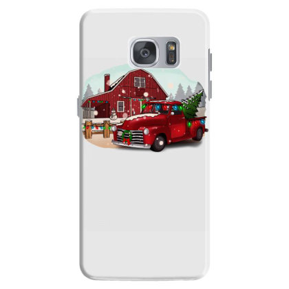 Farm Truck Christmas Samsung Galaxy S7 Case Designed By Alparslan Acar