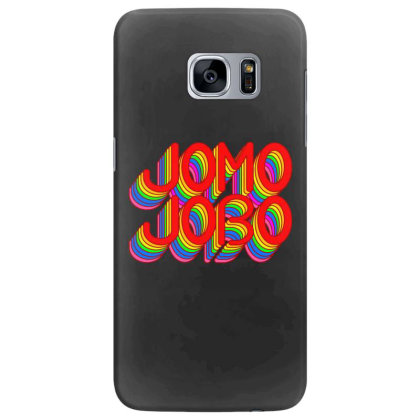 Jomo Jobo (rainbow) Classic T Shirt Samsung Galaxy S7 Edge Case Designed By Jetspeed001