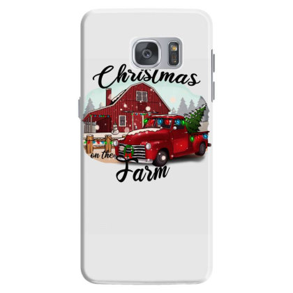 Farm On The Truck Christmas Samsung Galaxy S7 Case Designed By Alparslan Acar