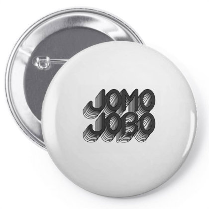 Jomo Jobo (black) Classic T Shirt Pin-back Button Designed By Jetspeed001