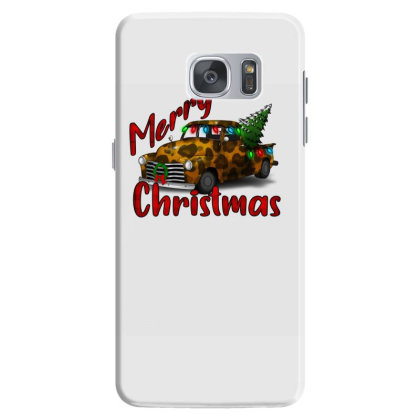 Farm Truck Christmas Leopard Samsung Galaxy S7 Case Designed By Alparslan Acar