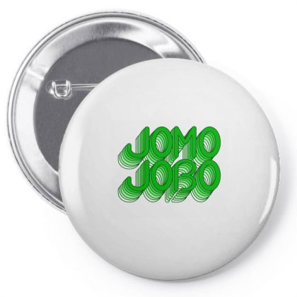 Jomo Jobo (green) Classic T Shirt Pin-back Button Designed By Jetspeed001