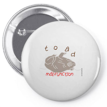 Toad Pin-back Button Designed By Kenswirled