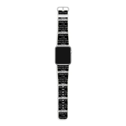 A Terddler Who Is A Turd Funny Shirt Apple Watch Band Designed By Familylover