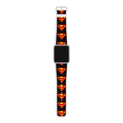 S Logo Characters  T Shirt Apple Watch Band Designed By Jetspeed001