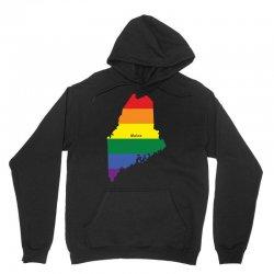 maine rainbow flag Unisex Hoodie | Artistshot