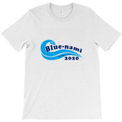 Blue Nami 2020 Politics T-shirt Designed By Macarirro