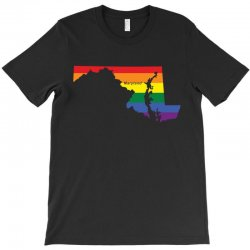 maryland rainbow flag T-Shirt | Artistshot