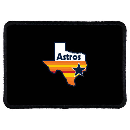 Houston Astros Strong Rectangle Patch Designed By Macarirro