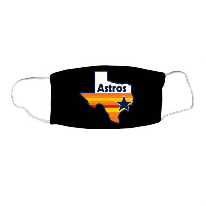 Houston Astros Strong Face Mask Rectangle Designed By Macarirro