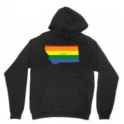 montana rainbow flag Unisex Hoodie | Artistshot