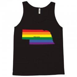 nebraska rainbow flag Tank Top | Artistshot