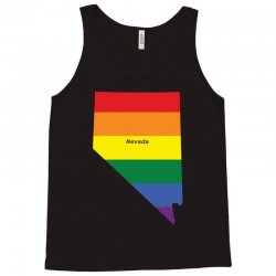 nevada rainbow flag Tank Top | Artistshot