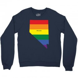 nevada rainbow flag Crewneck Sweatshirt | Artistshot
