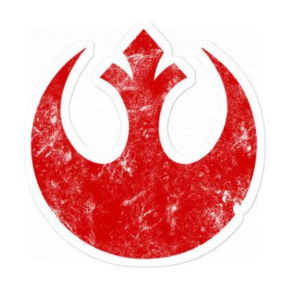 Star Wars Big Red Sticker Designed By Koopshawneen