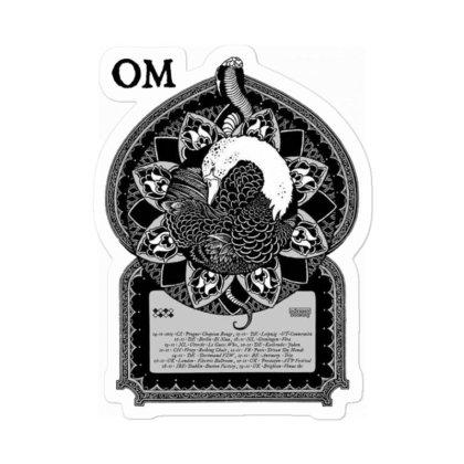 Om Band Sticker Designed By Sezapinka