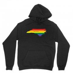 north carolina rainbow flag Unisex Hoodie | Artistshot
