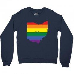 ohio rainbow flag Crewneck Sweatshirt | Artistshot